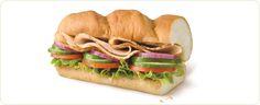 Subway Turkey sub Fresh Turkey, Turkey Breast, Slimming World, Catering, Sandwiches, Menu, Yummy Food, Favorite Recipes, Nutrition