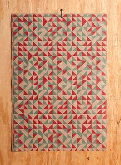 Geometric Quilt - Multiple Color Options