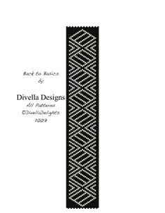 Back to Basics Peyote Bracelet Tutorial Pattern by divelladesigns