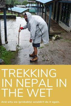 Trekking in Nepal (The Appapurnas) in the wet seaon wasn't all bad. There's those awesome leech stories I have now, and suspension rope 'bridges' with raging rafting rivers below. Read on! When It Rains, Guide Book, Rafting, Looking Up, Rivers, Bridges, Nepal, Trekking, Seasons