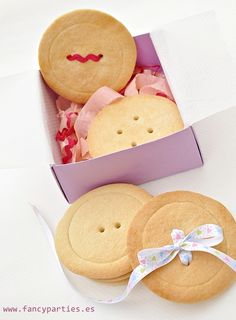 button cookies by www.fancyparties.es