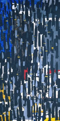 Patrick Heron 'Vertical : January 1956 © Estate of Patrick Heron. All Rights Reserved, DACS 2016 Abstract Expressionism, Abstract Art, Abstract Painters, Abstract Landscape, Patrick Heron, Art Informel, Textiles, Art Uk, Your Paintings