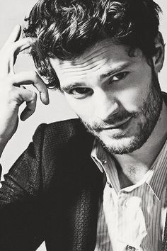 "Jamie Dornan may be playing a sexy billionaire in 'Fifty Shades of Grey,"" but it sounds like he is over the role as Christian Grey. Christian Grey, Jamie Dornan, Chris Hemsworth, Modelos Calvin Klein, Calvin Klein Models, Mr Grey, Mode Masculine, Comme Des Garcons, Charlie Hunnam"