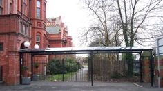 Park Street Furnishing provide their customers with bespoke entrance canopies so you can create a welcoming covered entrance area. Covered Walkway, Best Commercials, Canopies, Entrance, Park, Street, School, Entryway, Door Entry