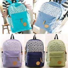 Cute Fashion Women's Canvas Travel Satchel Shoulder Bag Backpack School Hot Sale #Unbranded #Backpack