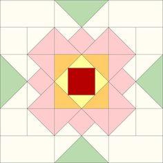 Threadbare Creations- Chatelaine Free BOW Sampler Quilt Block 54
