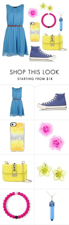 """""""¡Tré!"""" by kbelle28 ❤ liked on Polyvore featuring Boohoo, Converse, Casetify, Valentino, Dsquared2, Lokai, Simone I. Smith and weirdosfreaksandstrangers"""
