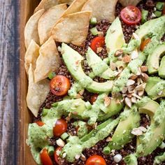 Quinoa Avocado Salad with Aji Verde Dressing | Frontier Co-op