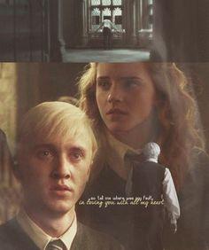 Draco//Hermione - dramione Fan Art
