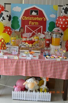 Little Wish Parties | Farmyard Party | https://littlewishparties.com