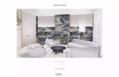 Hotel Guest, Hotel S, Yabu Pushelberg, Chinese Element, Type Setting, Living Room Interior, Presentation, Concept, Contemporary