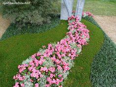 Gartenverbandelt: Grabbepflanzung