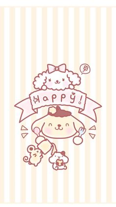 Cute Wallpapers, Wallpaper Backgrounds, Iphone Wallpaper, Sanrio Wallpaper, Kawaii Wallpaper, Character Creator, Chip And Dale, Character Wallpaper, Fanarts Anime