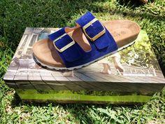 Sandalia Azul Klein.