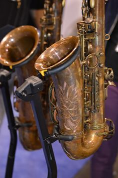 I think these are the most expensive saxes I played this year - 12k and 14K?? The Inderbinen Alto Sax and Tenor Sax