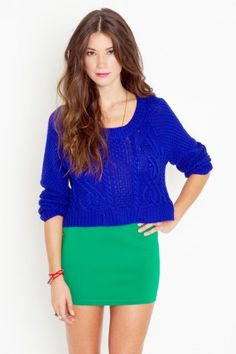 thinking about purchasing, loving the cobalt blue this season
