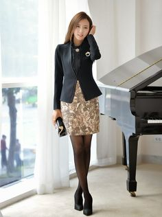 「faldas coreanas elegantes」の画像検索結果
