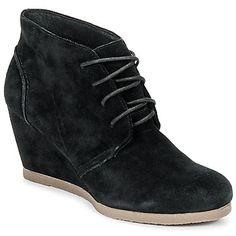 Stylish #Ankelboots for women, look for various variety at Spartoo.co.uk, colour : PRAFF Black, Price:Now £ 57.84