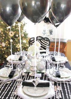 34 tips på vackra nyårsdukningar - Sköna hem