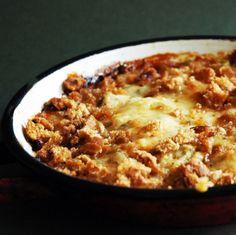 December 15: Savory Sweet Potato & Leek Pie