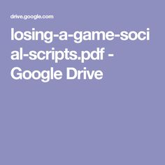 losing-a-game-social-scripts.pdf - Google Drive