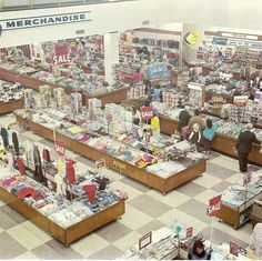 A Coles store from yesteryear ..