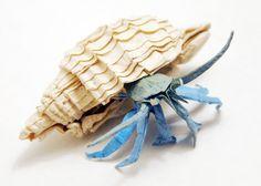 Paper Crab #origami