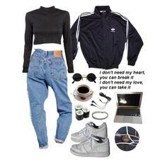 Grunge asian korean fashion outfit