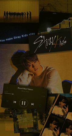 Black Phone Wallpaper, Music Wallpaper, Kids Wallpaper, Stray Kids Minho, Lee Know Stray Kids, Kids Background, Tumblr Backgrounds, Crazy Kids, Kpop Fanart