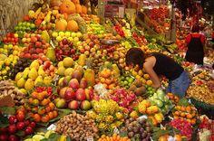 How To Juice - Fruits on Barcelona market