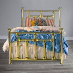 We've been creating custom Brass Beds by hand since Each bed is guaranteed for two generations making our Brass Beds the highest quality beds in the world. Brass Bed, American Manufacturing, Bedding Shop, Antique Furniture, Bunk Beds, Hamilton, Toddler Bed, Fantasy, Gold