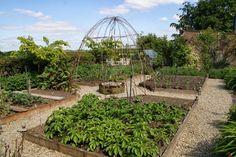 Organic Garden Dreams: Old Down House, Horton - Part I