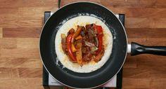 Yummyyy chiken fajita delicious dinner ore some people take it as breakfast too