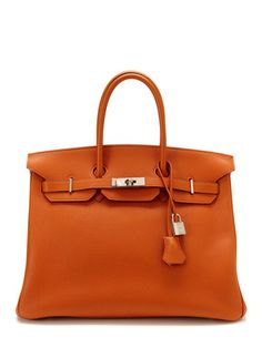 Hermès Potiron Togo Birkin 35cm