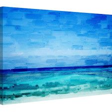 Cromer Painting Print on Wrapped Canvas