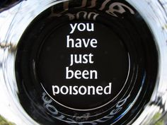 New Project: You Have Just BeenPoisoned