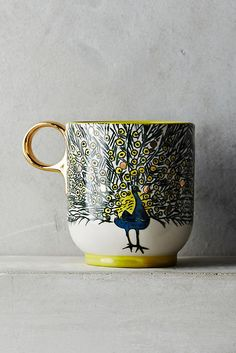 Anthropologie | Plumology Mug