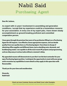 Want to create or improve your Purchasing Agent Cover Letter Example? ⚡ ATS-friendly Bot helps You ⏩ Use free Purchasing Agent Cover Letter Examples ✅ PDF ✅ MS Word ✅ Text Format Resume Cover Letter Examples, Resume Cover Letter Template, Resume Examples, Letter Templates, Cover Letter Layout, Writing A Cover Letter, Cover Letter Sample, Marketing Cover Letter, First Resume