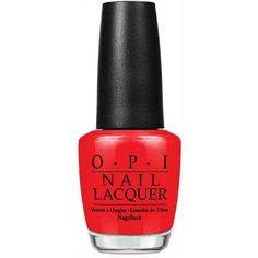 OPI Nail Lacquers - Big Apple Red Red Things red color under big toenail Opi Nails, Nail Manicure, Nail Polish, Red Pedicure, Red Apple, Pretty Nails, Red Color, Nail Colors, Perfume Bottles