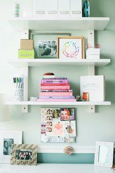 10 Cute Home Office storage ideas...