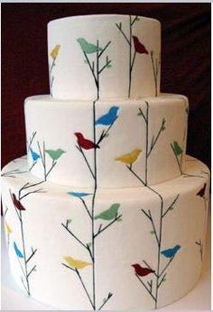 put a bird on it cake