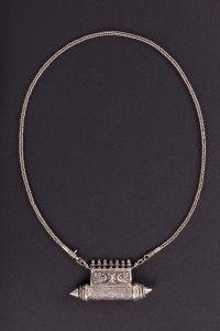 """Ta'wiz""  pendant. Silver. India. Early XX century"