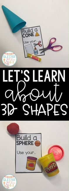 Your students will love these fun and interactive shape activities! They will make a perfect addition to your centers or small group interventions! Includes 8 activities! Keywords: interventions, guided math, 3d shapes, teaching shapes, geometry kindergarten, kindergarten, first grade, special education, math centers, shape centers, kindergarten math, cylinders, cones, cubes, pyramids, spheres, and rectangular prisms.