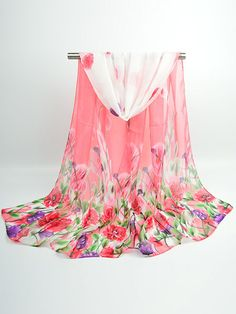 Buy Chiffon Floral Printed Scarves online with cheap prices and discover fashion Scarves at Fashionmia.com.
