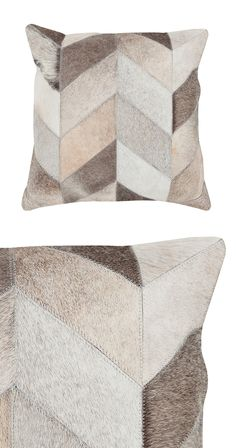 Elevate your next afternoon reading or evening television-watching session with this cozy companion. Perfect for a country-chic or rustic room, this Wilder Throw Pillow features a sampling of hair-on-h...  Find the Wilder Throw Pillow, as seen in the #PerfectlyDistressed Collection at http://dotandbo.com/collections/perfectlydistressed?utm_source=pinterest&utm_medium=organic&db_sku=114550