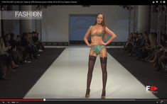 """cool """"VON FOLLIES"""" by Dita Von Teese Lingerie at CPM Moscow Autumn Winter 2014 2015 by Fashion Channel"""