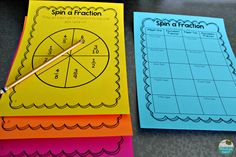 Fraction Interactive Read Alouds and Math Centers