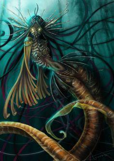Mermaid., Victoria Armas on ArtStation at https://www.artstation.com/artwork/mermaid-10