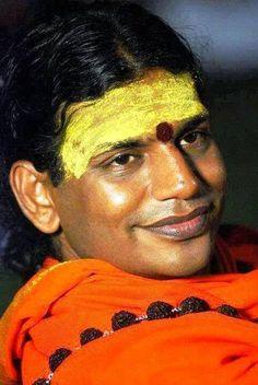 "|| तेन त्यक्तेन भुञ्जीथा मा गृधः कस्यस्विद्धनम् ||     ""thena thyakthena bhunjeethaa, maa gridhah kasyasvid dhanam""     ""By renouncing everything, celebrating everything! This is the Advaithic context of renunciation.""  -Sri Nithyananda Swami"