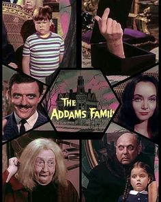 'The Addams Family' in colour!